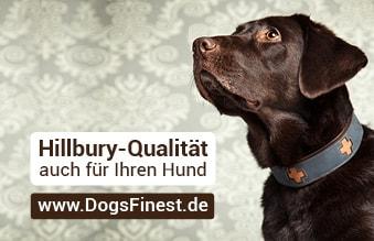 Hillbury-Qualität auch für Hunde